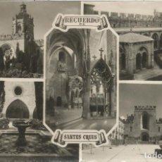 Postales: REIAL MONESTIR DE SANTA MARIA DE SANTES CREUS, DIVERSOS ASPECTOS - FOTO RAYMOND Nº 39 - CIRCULADA . Lote 128441687