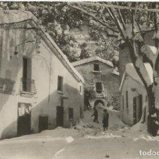Postales: MONTSENY (BARCELONA) PLAÇA DEL POBLE NEVADA - FOTO PEANAS 208 - ESCRITA 1965. Lote 128441859