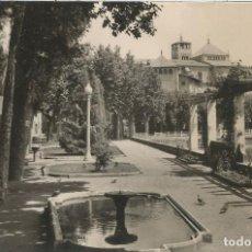 Postales: VIC (BARCELONA) PARQUE BALMES - COMERCIAL PRAT Nº 11 - CIRCULADA 1964. Lote 128441955