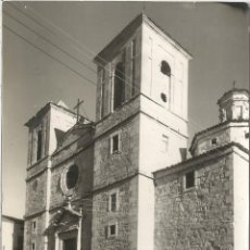 Postales: CORNUDELLA (TARRAGONA) IGLESIA PARROQUIAL - FOTO RAYMOND Nº 11 - CIRCULADA. Lote 128443339