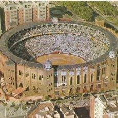 Postales: BARCELONA, PLAZA DE TOROS MONUMENTAL, VISTA AÉREA - ESCUDO DE ORO Nº 73 - EDITADA EN 1963 - S/C. Lote 128443851