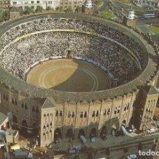 Postales: BARCELONA, PLAÇA DE TOROS MONUMENTAL, VISTA AÉRIA - ESCUDO DE ORO Nº 18 - EDITADA EN 1970 - S/C. Lote 128443959