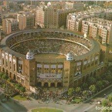 Postales: BARCELONA VISTA EN HELICÓPTERO, PLAZA TOROS - POSTALES CYP Nº 83 - EDITADA EN 1965 - S/C. Lote 128444067
