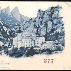 Postales: POSTALES - MONTSERRAT. EL MONASTERIO.. Lote 128474887