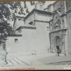 Postales: 7 - SOLSONA , PORTA LATERAL DE LA CATEDRAL - SIN CIRCULAR. Lote 125172159