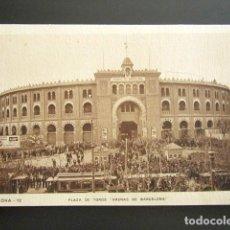 Postales: POSTAL BARCELONA. PLAZA DE TOROS ARENAS DE BARCELONA. . Lote 128621615