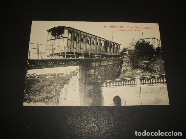 BARCELONA FUNICULAR DEL TIBIDABO (Postales - España - Cataluña Antigua (hasta 1939))