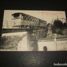 Postales: BARCELONA FUNICULAR DEL TIBIDABO. Lote 128664527
