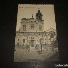 Postales: MATARÓ BARCELONA IGLESIA DE SANTA MARIA. Lote 128714067