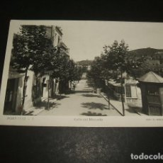 Postales: PORT BOU GERONA CALLE DEL MERCADO. Lote 128717119