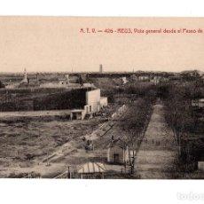 Postales: REUS.- A.T.V - 426 - VISTA GENERAL DESDE EL PASEO DE MATA. Lote 128963343