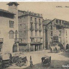 Postales: RIPOLL .- PLAZA DEL MERCADO .- COLECCION MAURI . Lote 129072667