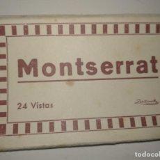 Postales: BLOC 24 VISTAS MONTSERRAT. Lote 129358043