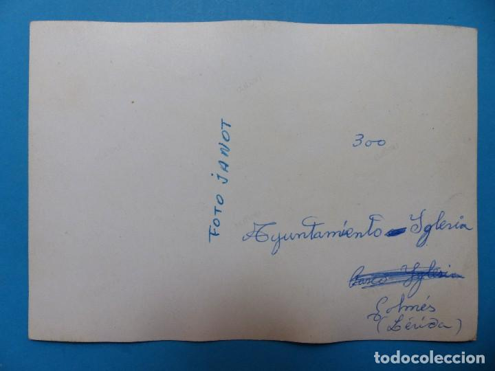 Postales: GOLMES, LERIDA - CLICHE ORIGINAL Y POSTAL - NEGATIVO EN CELULOIDE - FOTO JOANOT - Foto 4 - 129732543