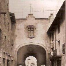 Postales: ANTIGUA POSTAL 13 CENTELLAS PORTAL ED VDA RELATS ESCRITA 1955. Lote 129988359