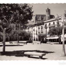 Postales: BALAGUER.- PLAZA DE MERCADAL. Lote 130059199