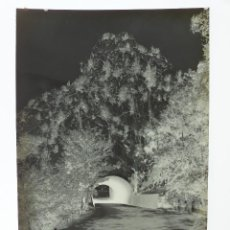 Postales: OLIANA, LERIDA. TUNEL PANTANO - CLICHE ORIGINAL - NEGATIVO EN CELULOIDE - FOTO JANOT. Lote 130083047