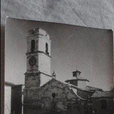 Postales: ANTIGUA POSTAL.IGLESIA.ALMATRET.LERIDA.FOTO GOMEZ VIDAL. Lote 130117043