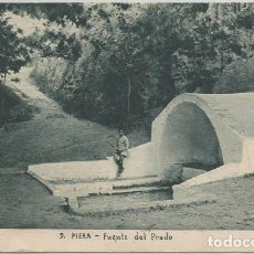 Postales: POSTAL PIERA FUENTE DEL PRADO ED. JOAQUIN MUMBRU N° 9 BARCELONA . Lote 130194679