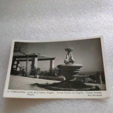 Postales: TARRAGONA. AVDA. DE LA VICTORIA. PERGOLAS. FOTO RAYMOND. Nº 11, SIN CIRCULAR. Lote 130318390
