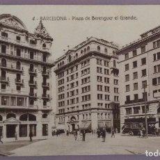 Postales: POSTAL 4. BARCELONA. PLAZA DE BERENGUER EL GRANDE. Lote 130680084