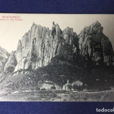 Postales: POSTAL MONTSERRAT CAPILLA STA CECILIA CATALUÑA ED L ROCA 18 NO ESCRITA NO CIRCULADA. Lote 130757280