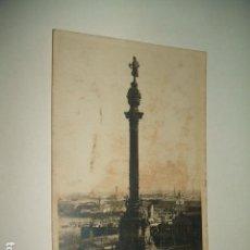 Postales: BARCELONA MONUMENTO A COLÓN. Lote 131064244
