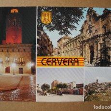 Postales: CERVERA. DIVERSOS ASPECTOS. N. 13 ESCUDO DE ORO. NUEVA SIN CURCULAR. Lote 131348934