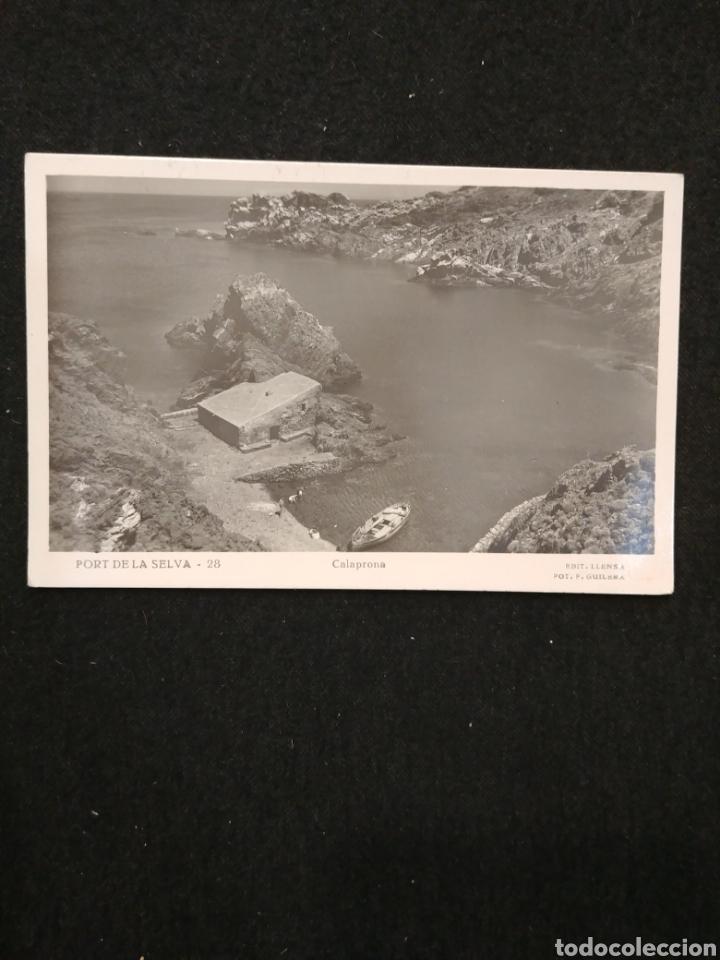 PORT DE LA SELVA -CALAPRONA (Postales - España - Cataluña Antigua (hasta 1939))