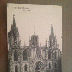 Postales: POSTAL BARCELONA CATEDRAL. Lote 183425578