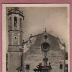 Postales: POSTAL CENTELLAS - IGLESIA PARROQUIAL Nº 3 NO PONE EDITOR . Lote 131589042