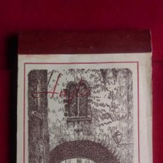 Postales: B-18.- BLOC DE POSTALES DE -- ANGLES , 15 POSTALES COMPLETO CON HISTORIA COMPENDIDA DE ANGLES ,. Lote 273505038