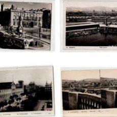 Postales: LOTE DE 4 POSTALES DE BARCELONA.. Lote 131890910