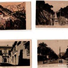 Postales: LOTE DE 4 POSTALES DE BARCELONA. . Lote 131894334