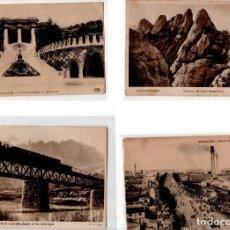 Postales: LOTE DE 4 POSTALES DE BARCELONA. . Lote 131894414
