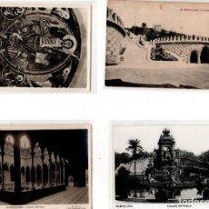 Postales: LOTE DE 4 POSTALES DE BARCELONA. . Lote 131894430