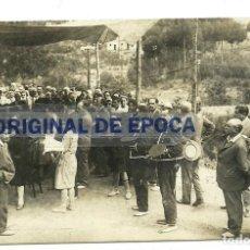 Postales: (PS-57558)POSTAL FOTOGRAFICA LA FLORESTA PEARSON-MOZOS DE ESCUADRA.PRIMERA MISA 29-7-1929. Lote 131940078