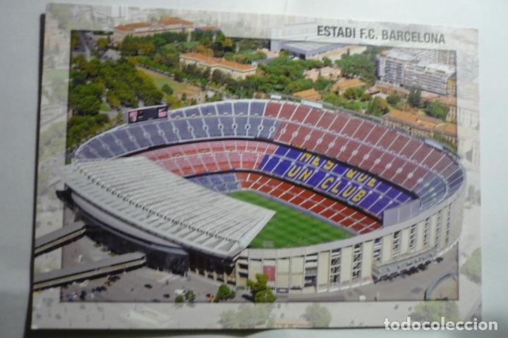 POSTAL BARCELONA FUTBOL ESTADIO FC BARCELONA (Postales - España - Cataluña Moderna (desde 1940))