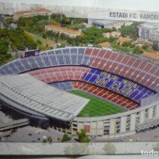 Postales: POSTAL BARCELONA FUTBOL ESTADIO FC BARCELONA. Lote 132060850