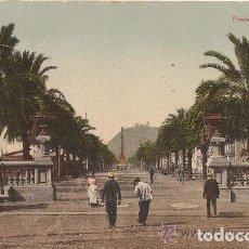 Postales: BARCELONA - PASEO DE COLÓN - CIRCULADA - 1909. Lote 134834501