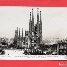 Postales: BARCELONA. 132 TEMPLO SAGRADA FAMILIA. ORIOL. Lote 132301386