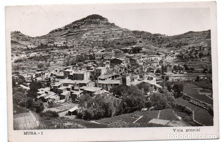 PS7880 MURA 'VISTA GENERAL'. CIRCULADA. 1953 (Postales - España - Cataluña Moderna (desde 1940))