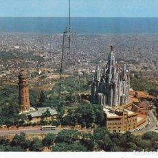 Postales: BARCELONA CUMBRE DEL TIBIDABO Nº B 0152 (ESCRITA) . Lote 132582618