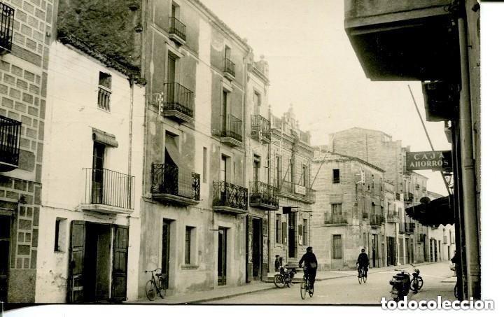 TARRAGONA-SANTA BARBARA-FOTOGRÁFICA-CALLE DEL PUEBLO- EDIFICIO DE FALANGE ESPAÑOLA-1958 (Postales - España - Cataluña Moderna (desde 1940))
