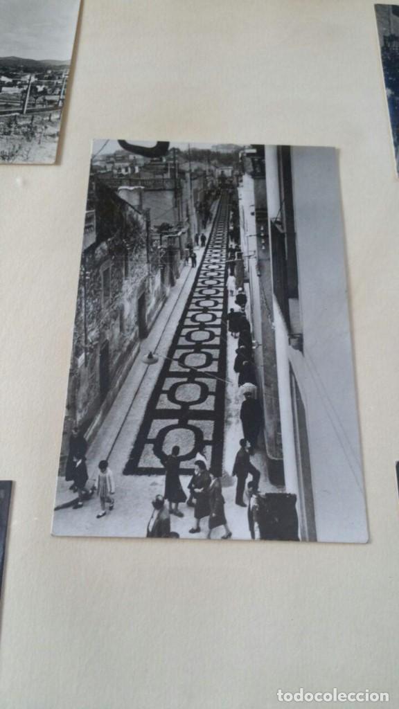 Postales: CUADRO CON CINCO FOTOGRAFIAS DE SANT CUGAT DEL VALLES AÑOS 50 - Foto 6 - 132676402
