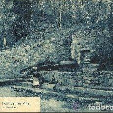 Cartes Postales: BANYOLES - Nº 2 FONT DE CAN PUIG - FOTO: ROISIN - 1925 (CIRCULADA). Lote 134835182