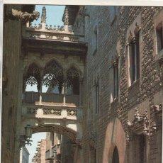 Postales: CALLE OBISPO DE BARCELONA. Lote 133257542
