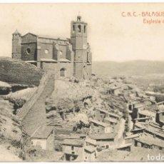Postales: BALAGUER - CNC THOMAS - Nº8 ESGLESIA DE SANTA MARIA (SIN CIRCULAR). Lote 133281850