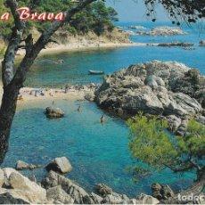 Postales: PALAMOS, COSTA BRAVA, CALA ESTRETA, PROVINCIA GERONA. Lote 133549218