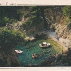 Postales: COSTA BRAVA, PALAMOS, CALA SALGUER, ALGUER, PROVINCIA GERONA. Lote 133549486